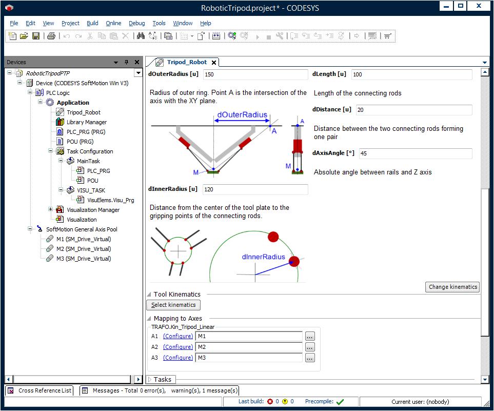 CODESYS robotics - complete oplossing volgens de PLCopen standaard